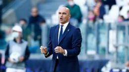 Belgium head coach Roberto Martinez