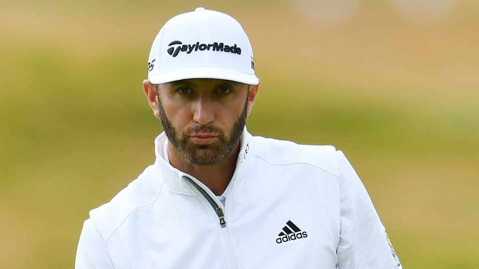 British Open 2018: 'I don't think I'm overthinking it,' Dustin Johnson says