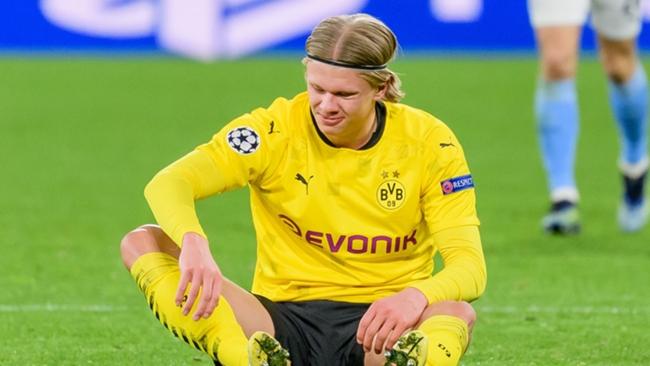Borussia Dortmund forward Erling Haaland