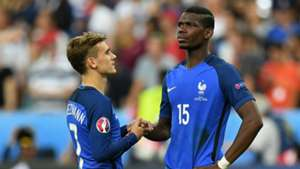Pogba and Griezmann - Cropped