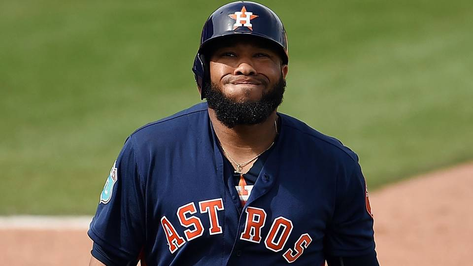 Astros have one suspended for PEDs, another for drug of abuse