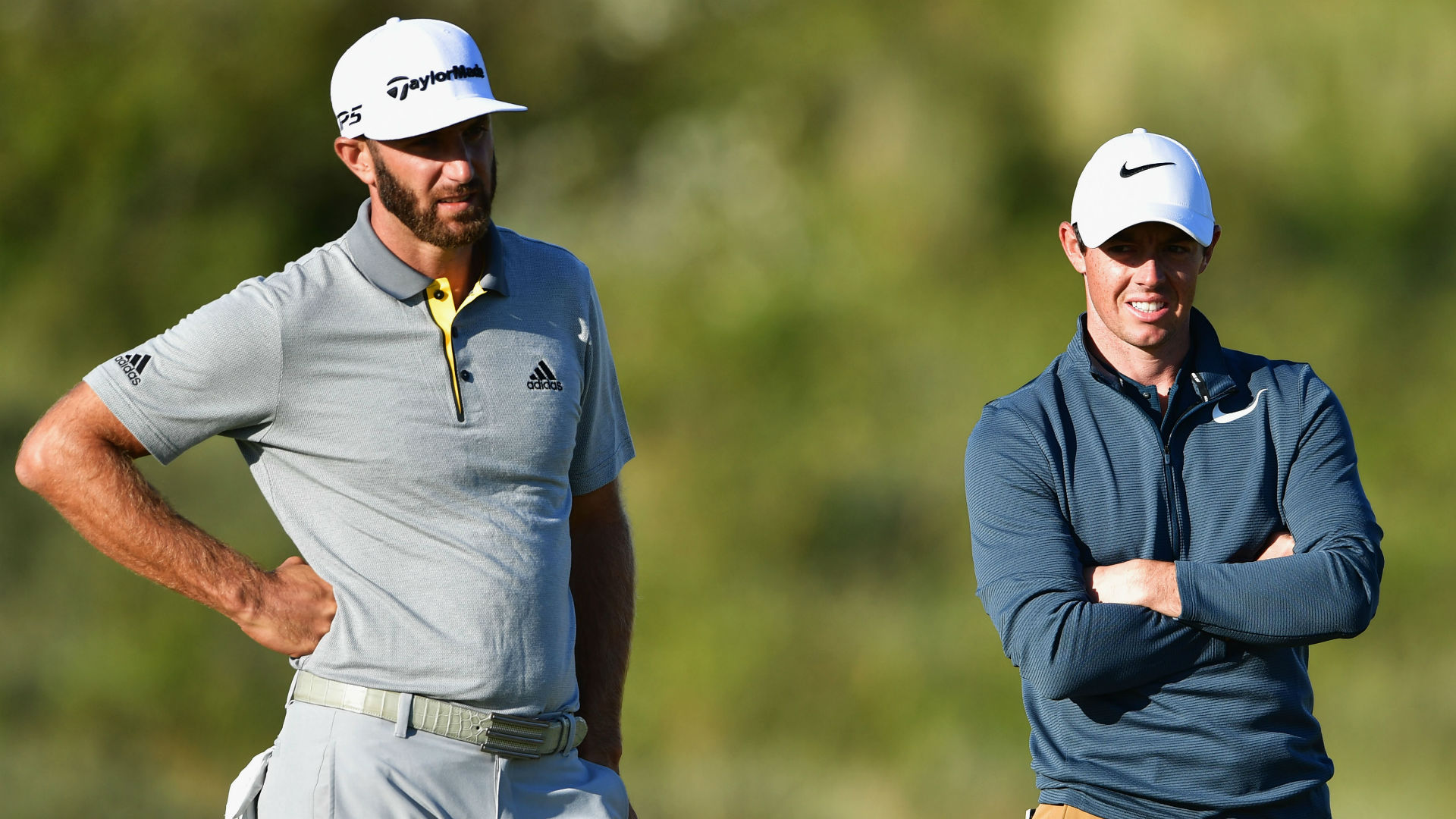 Dustin Johnson expects a rejuvenated Rory McIlroy to star in 2018