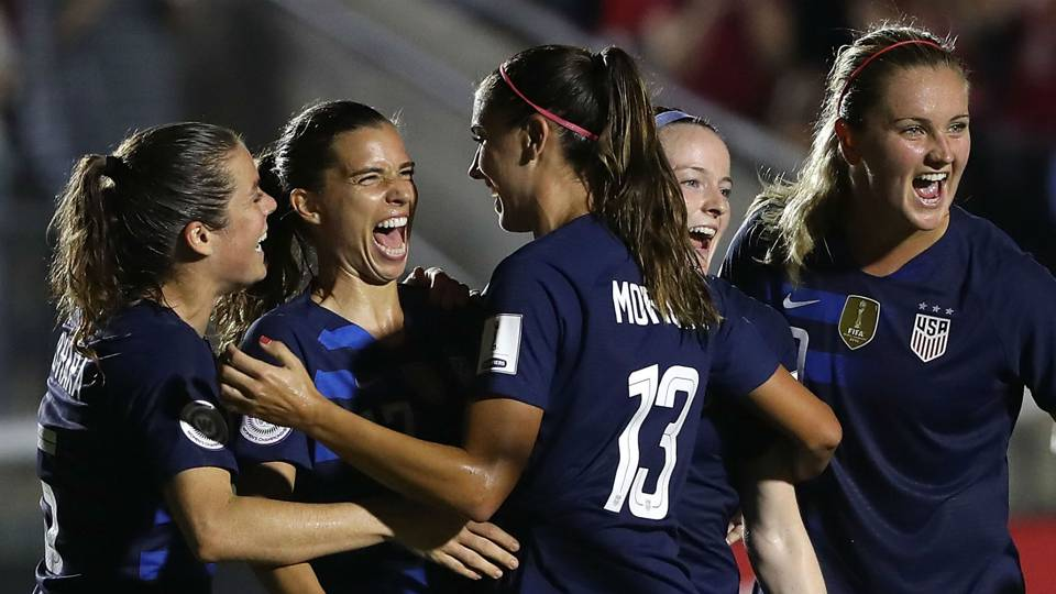 Alex Morgan on starting World Cup qualifying with big win: 'We've been looking forward to this for two years'