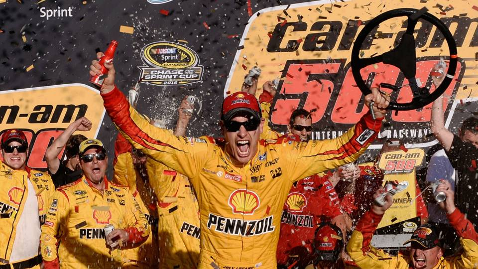 Joey Logano, wife announce birth of son
