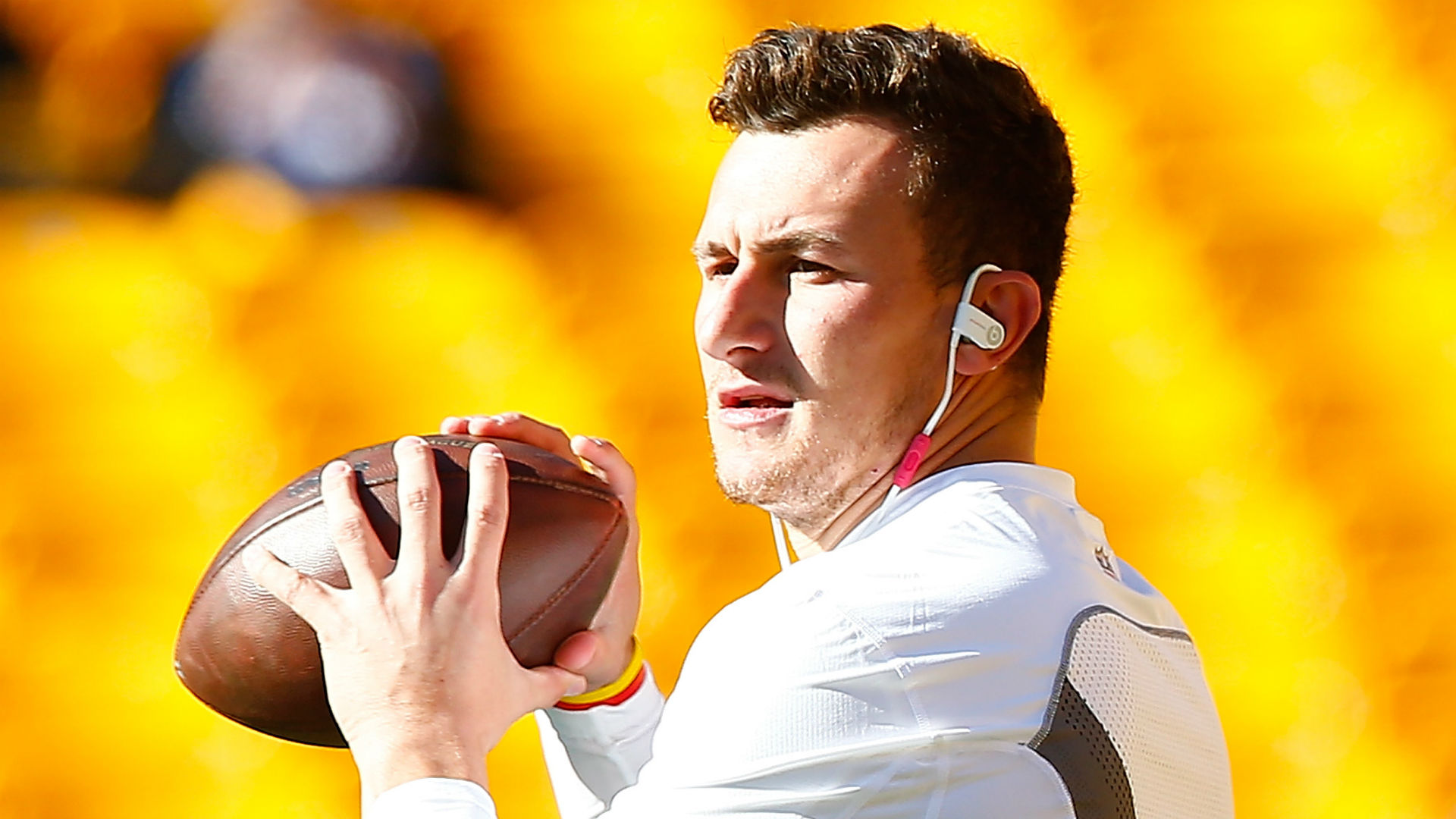 Johnny Manziel vows to  throw the s— out of the ball   91d91de0c