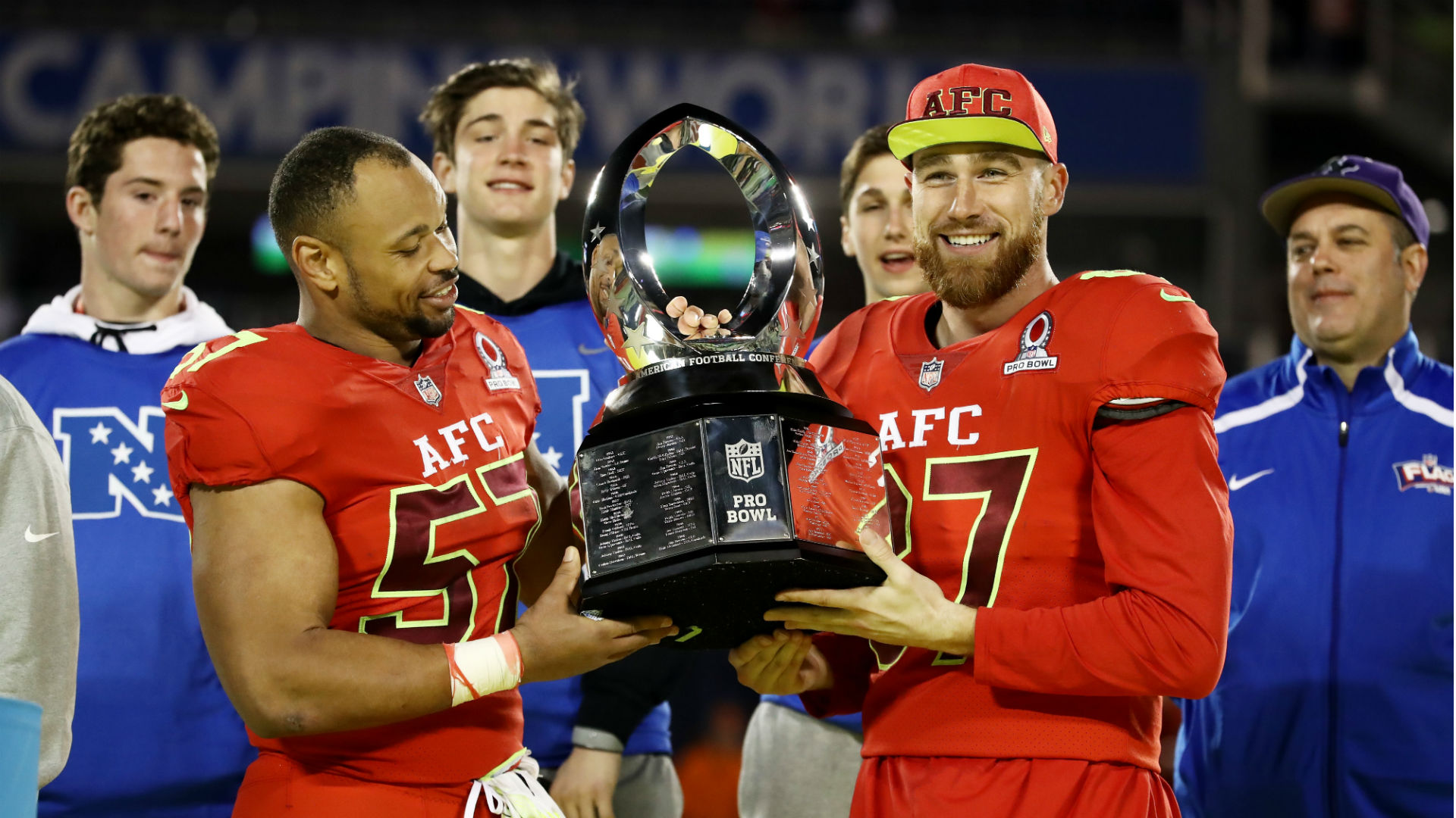 Five best highlights from 2017 Pro Bowl   NFL   Sporting News