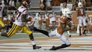 Texas wide receiver Joshua Moore