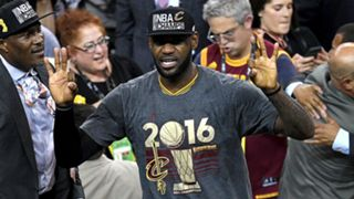 LeBron James named NBA Finals MVP