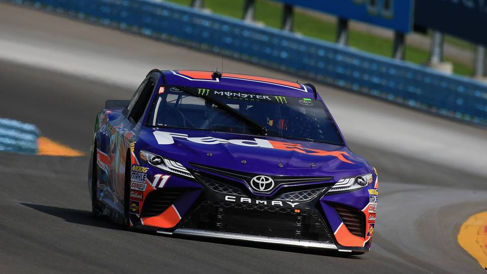NASCAR starting lineup at Watkins Glen: Denny Hamlin earns first pole of season