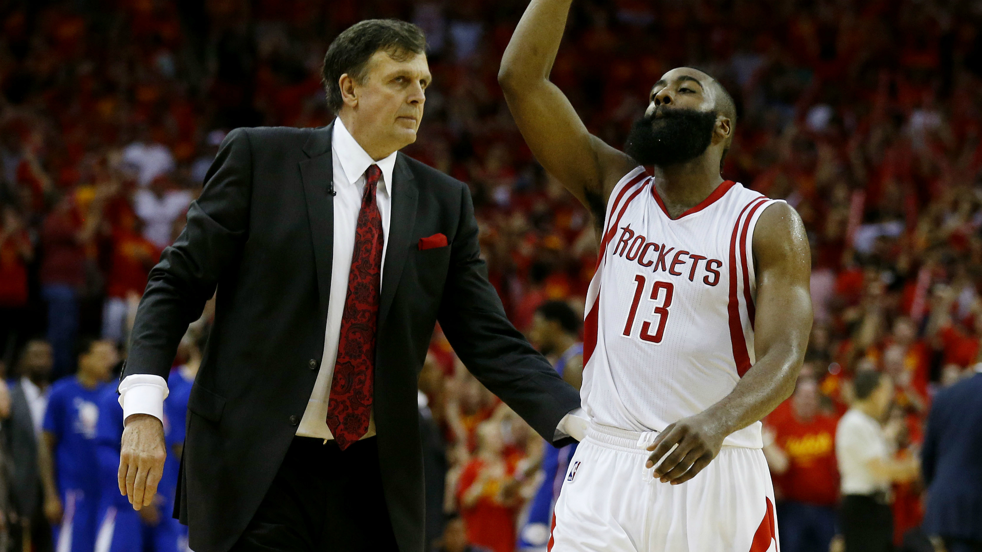 6f4c26f6ed2 Harden on McHale s  not a leader  comment   He s a clow