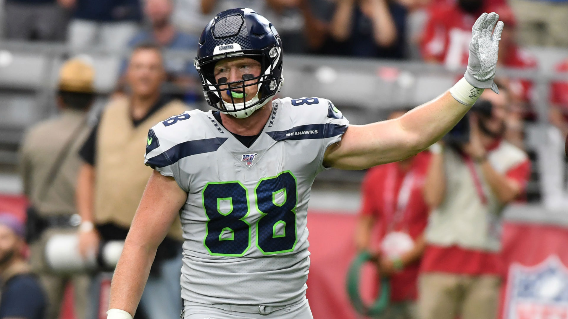 Will Dissly injury update: Seahawks tight end suffers 'serious' Achilles injury vs. Browns
