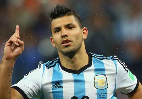 'Aguero won't be 100% for World Cup - Argentina doctor'
