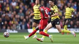 Sadio Mane scores his 100th Premier League goal