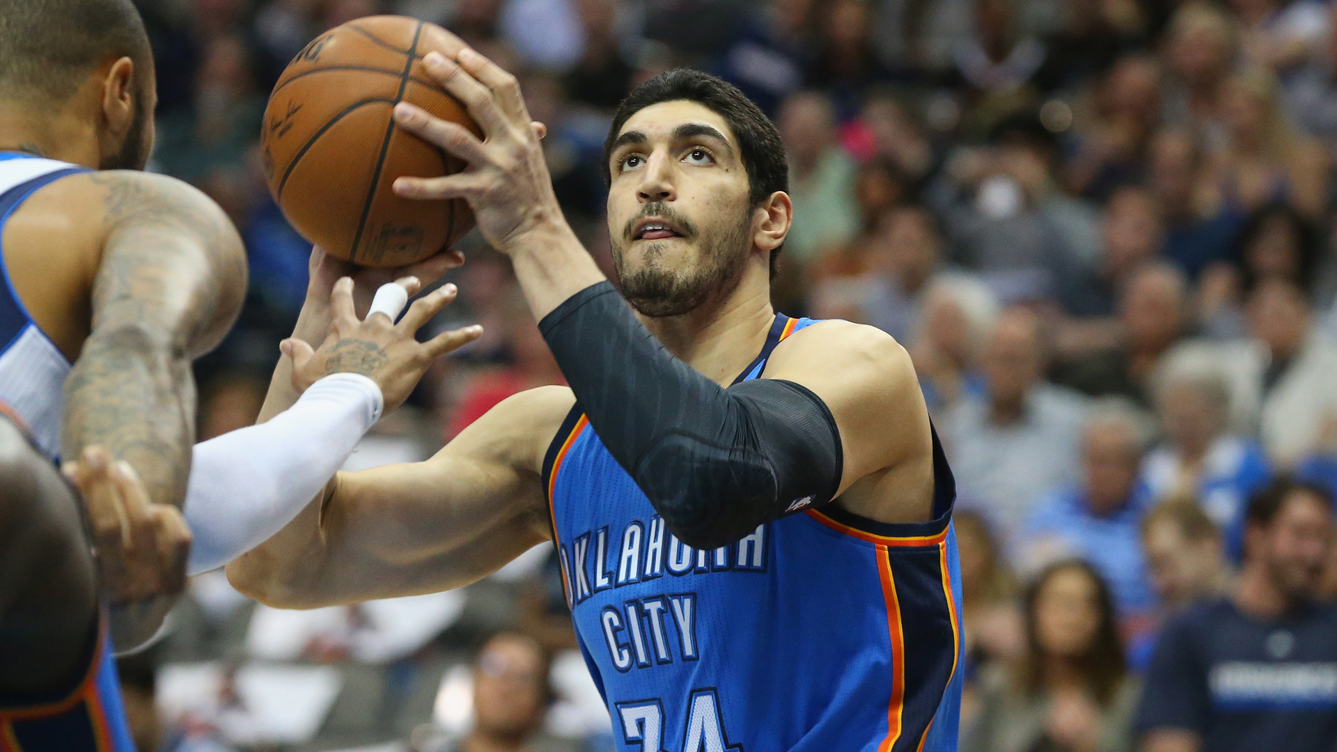 trevor booker on enes kanter   u0026 39 he got his stats  but as
