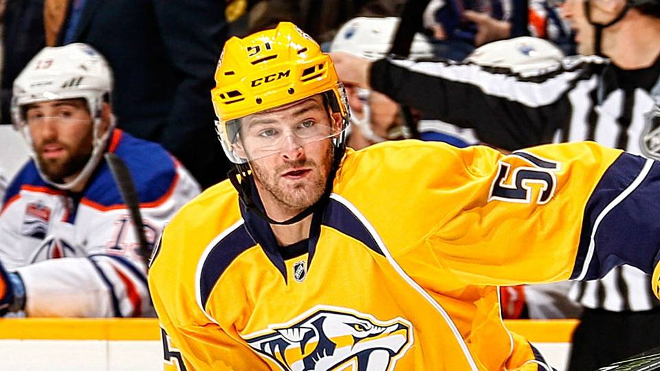 Predators forward Austin Watson suspended 27 games for 'unacceptable off-ice conduct'