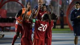 Panama celebrate against USA