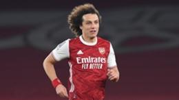 David Luiz spent two seasons with Arsenal