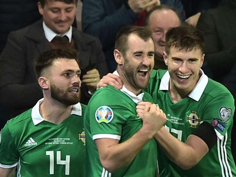 Northern Ireland 2 Estonia 0: McGinn, Davis get Euro 2020 qualification campaign off to a flyer