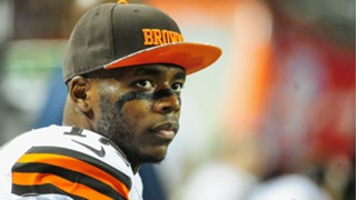 Cleveland Browns wide receiver Josh Gordon - cropped