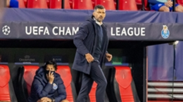 Porto head coach Sergio Conceicao