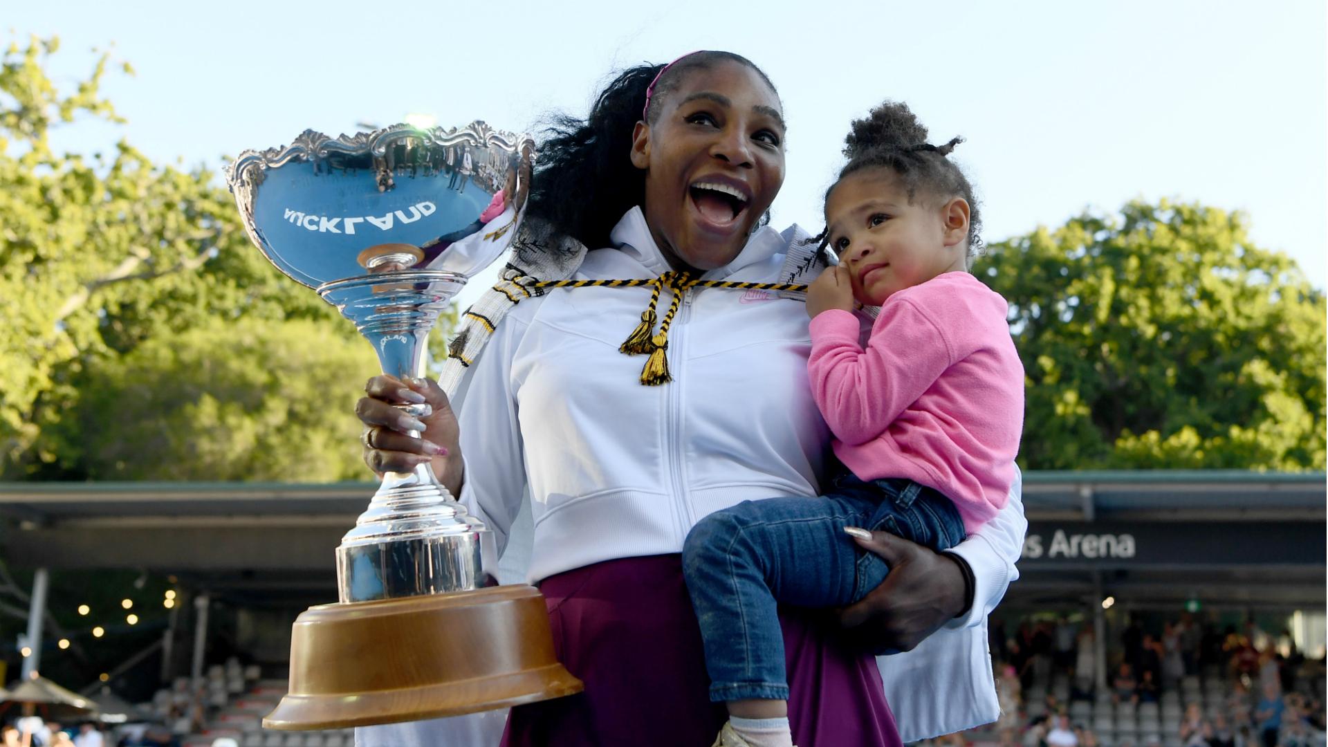 Serena Williams apunta al 'próximo gol' - Abierto de Australia - después de terminar la sequía del título 2