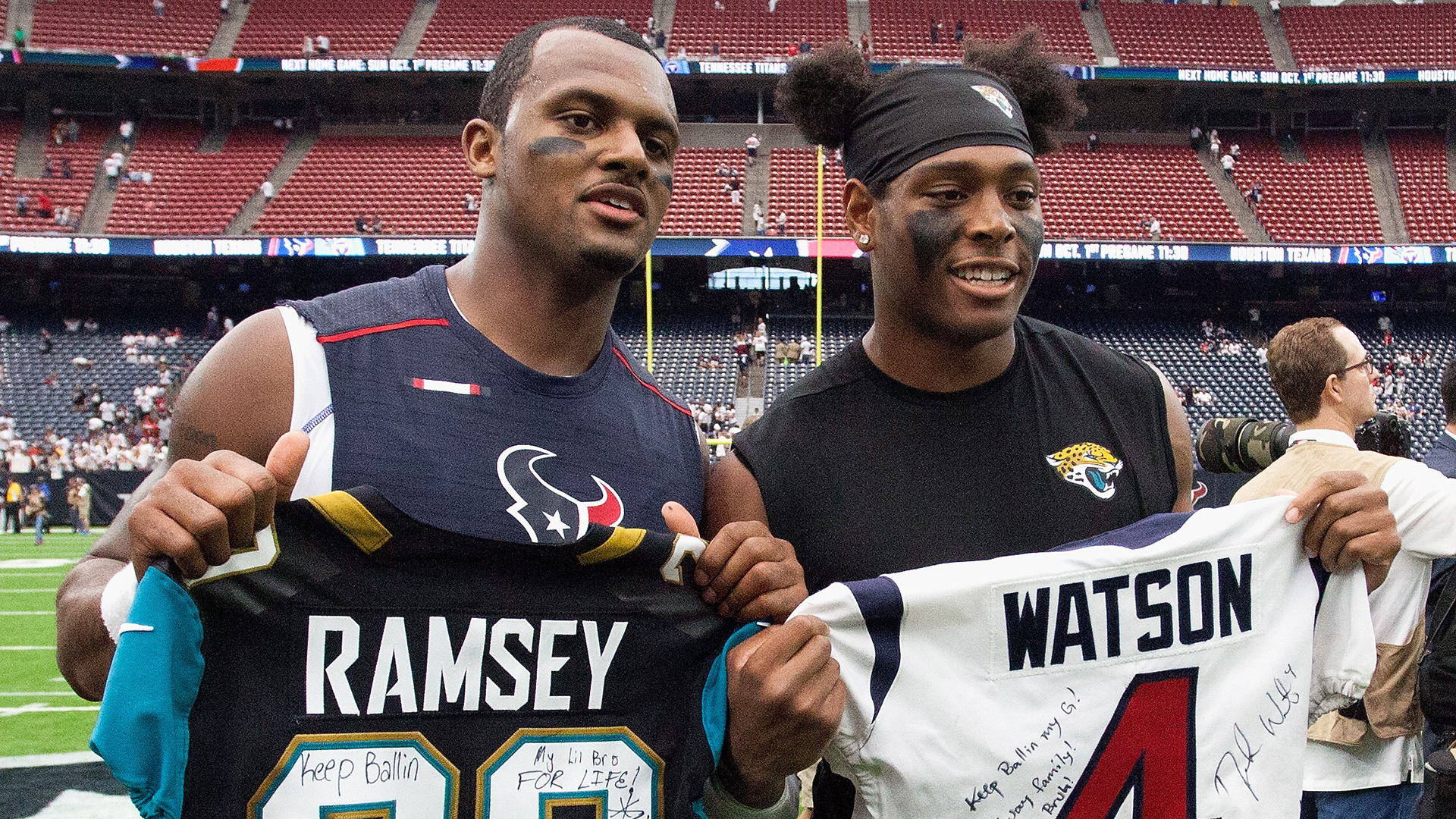 newest b5936 dbee3 Deshaun Watson weighs in on Marcellus Wiley saying Chiefs ...