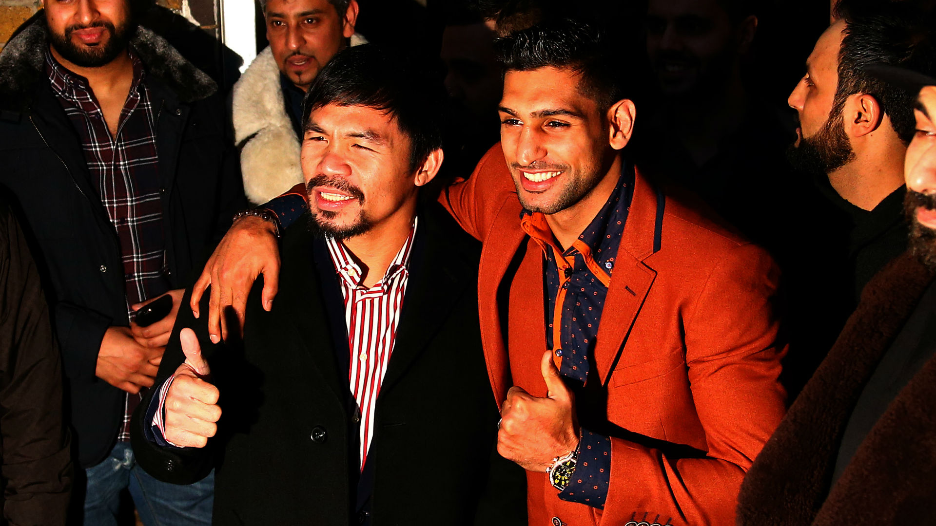 Amir Khan claims Manny Pacquiao agreed to fight in Saudi Arabia
