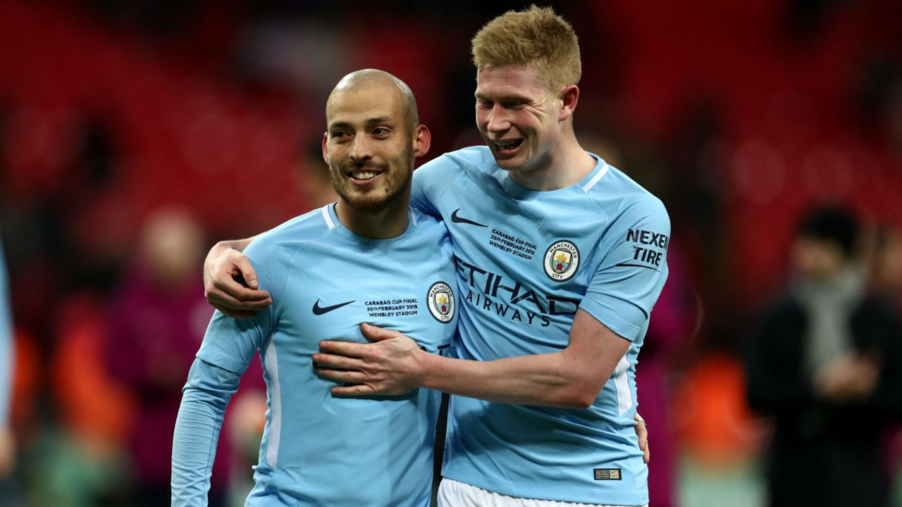 Image result for silva and de bruyne