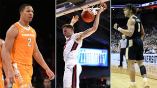 Grant Williams (left), Dylan Winder (middle) and Carsen Edwards