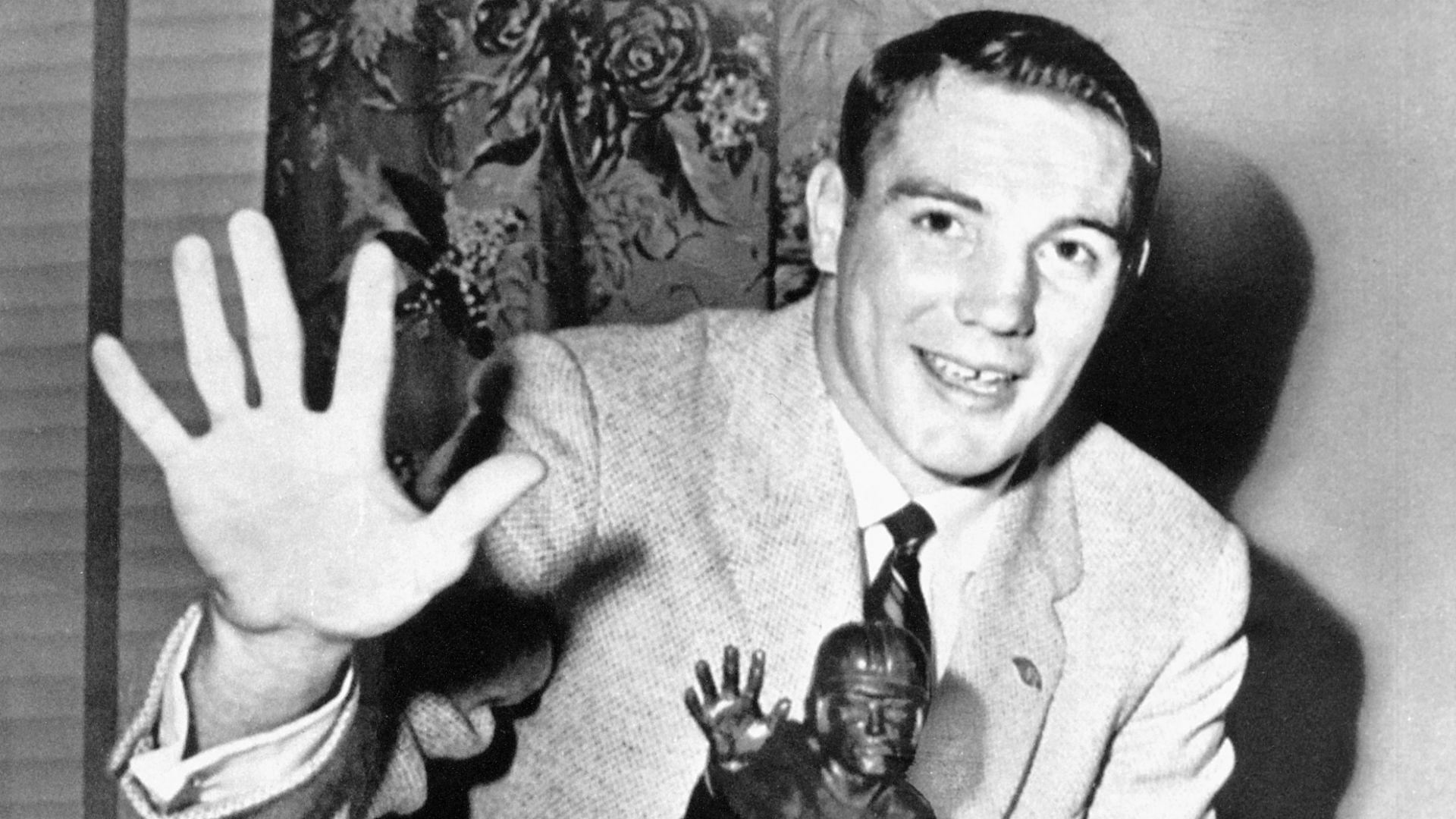Ohio State legend, Heisman winner Howard 'Hopalong ...