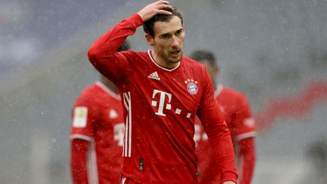 Bayern Munich midfielder Leon Goretzka is reportedly a target for Manchester United
