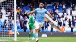 Sergio Aguero enjoyed a glorious Etihad Stadium farewell