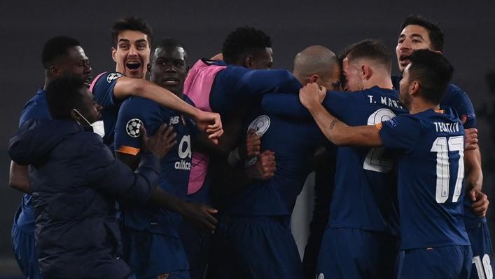 Porto celebrate Sergio Oliveira's decisive goal