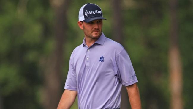 American golfer Wes Roach