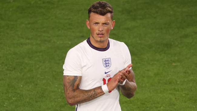 Ben White following an England friendly