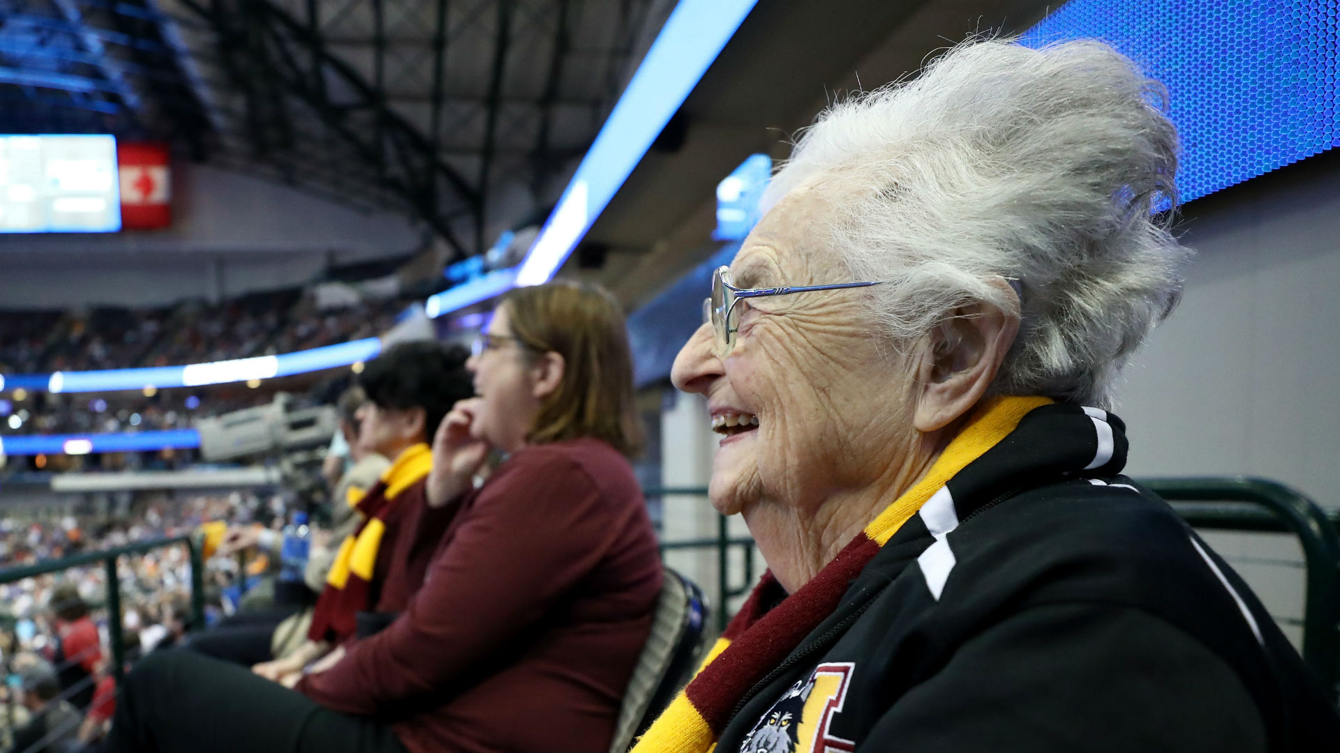 Why did Sister Jean leave Final Four early?