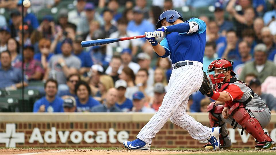 MLB wrap: David Bote hits another walk-off home run, lifts Cubs to win over Reds