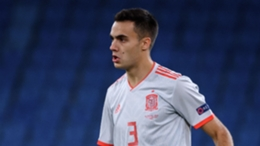 Sergio Reguilon is back in the Spain squad