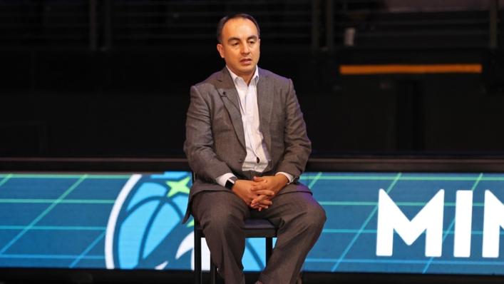 Fired Minnesota Timberwolves executive Gersson Rosas