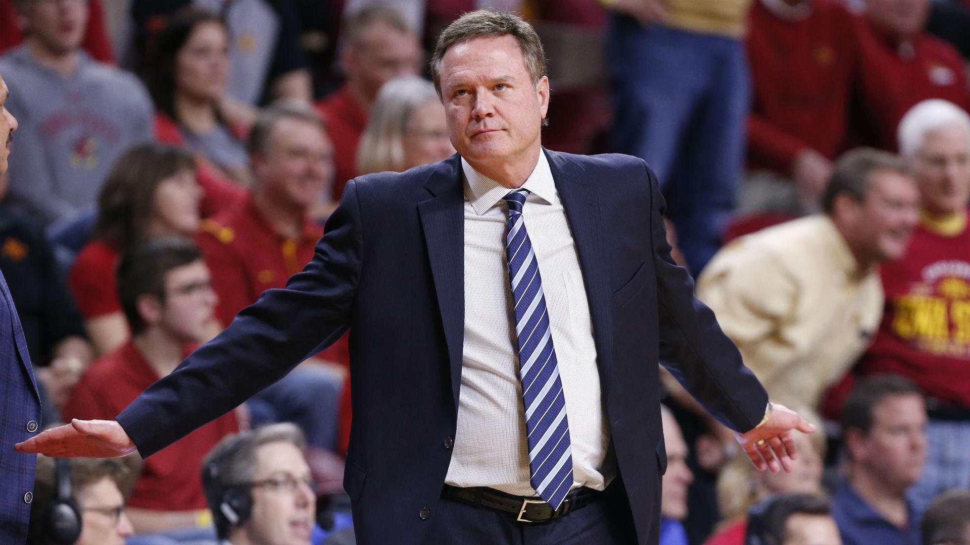 Kansas coach Bill Self dismisses 'narrative' that promo video was aimed at NCAA
