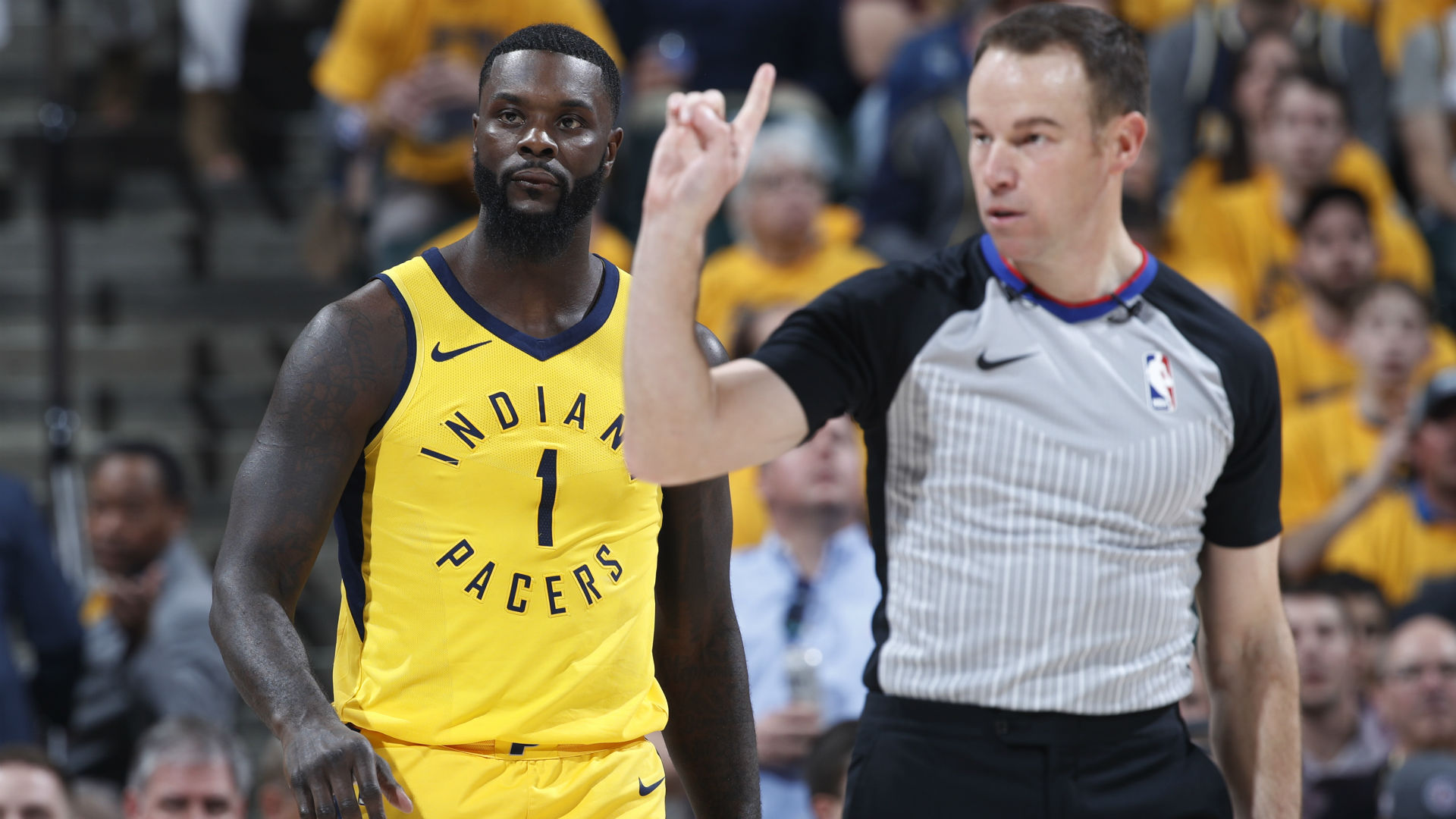 NBA replay official explains ruling on Lance Stephenson-Jeff Green scuffle