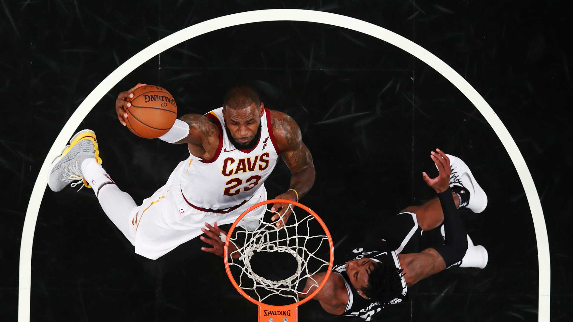 LeBron James sets Cavs franchise record with 772nd game played
