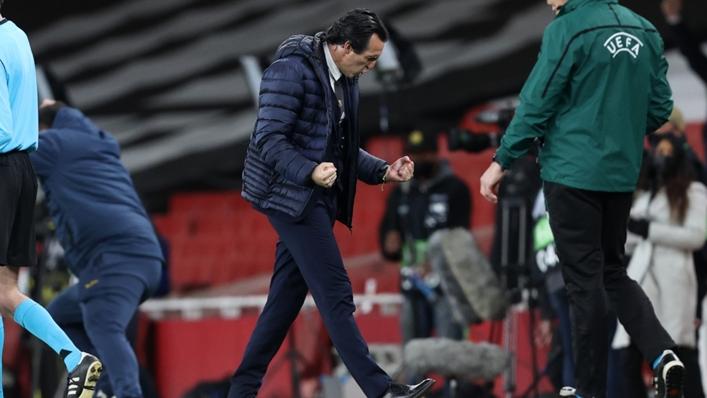 Villarreal boss Unai Emery