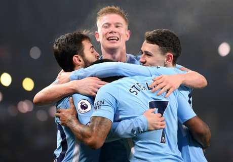 De Bruyne, Aguero & the Man City 2017-18 player ratings