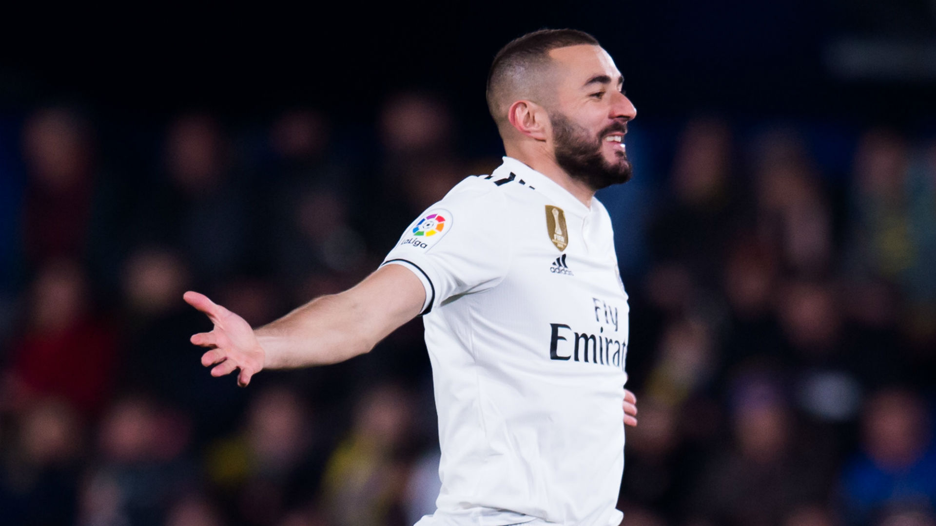 Solari toasts in-form Benzema after win at Espanyol