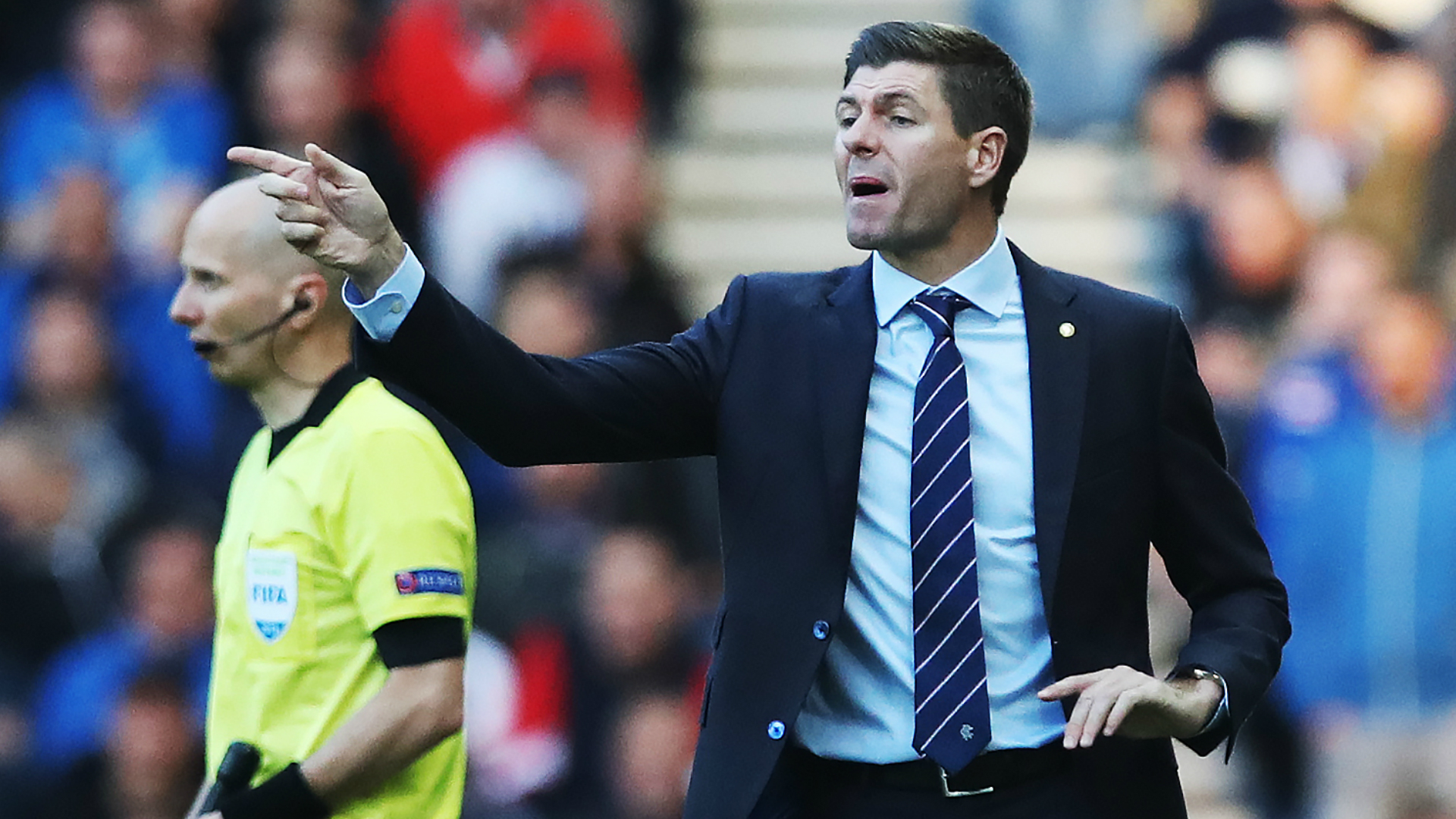 Steven Gerrard calls on Rangers players to show their warrior spirit