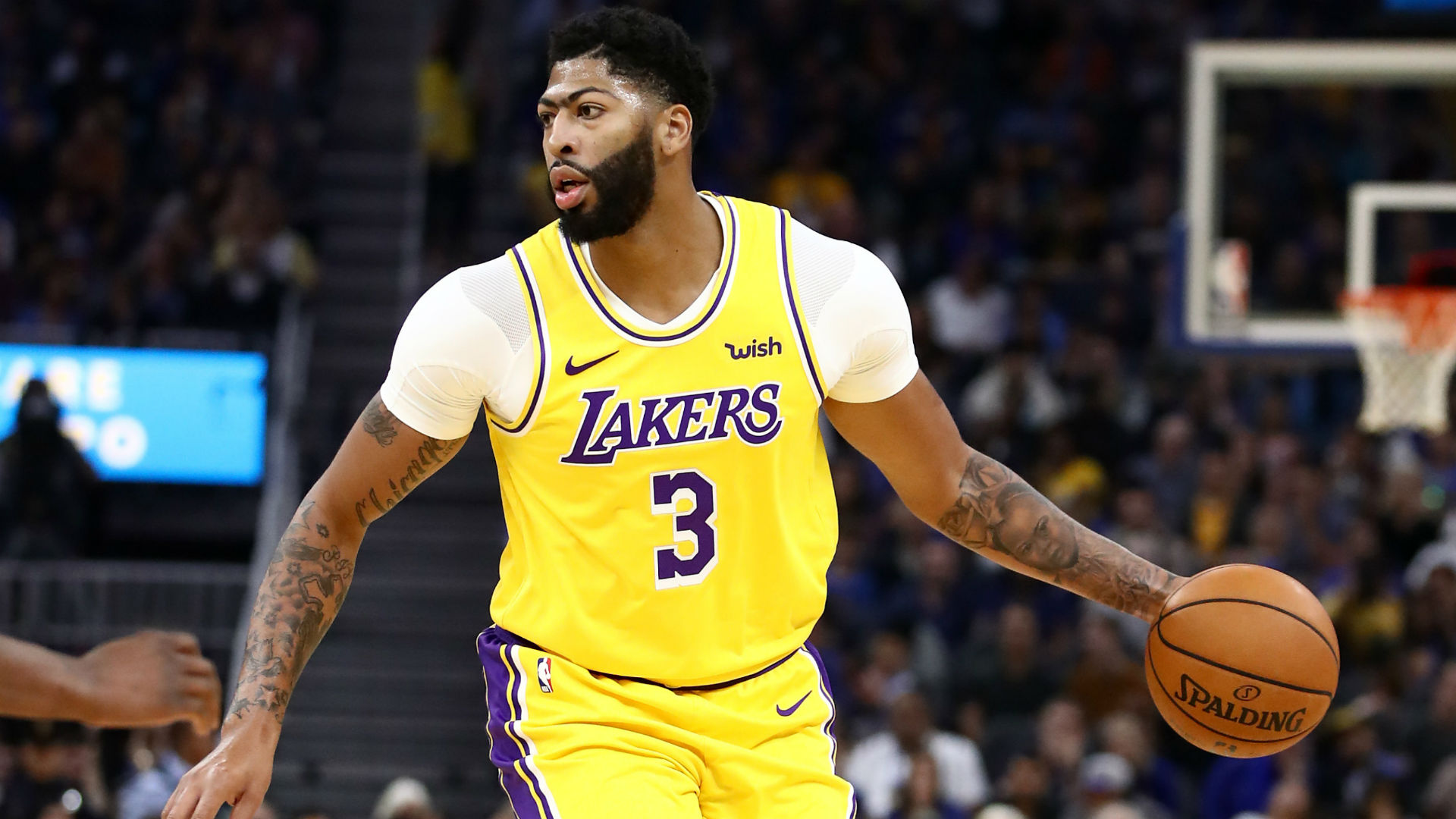 Lakers react to Anthony Davis' impressive preseason debut with L.A.