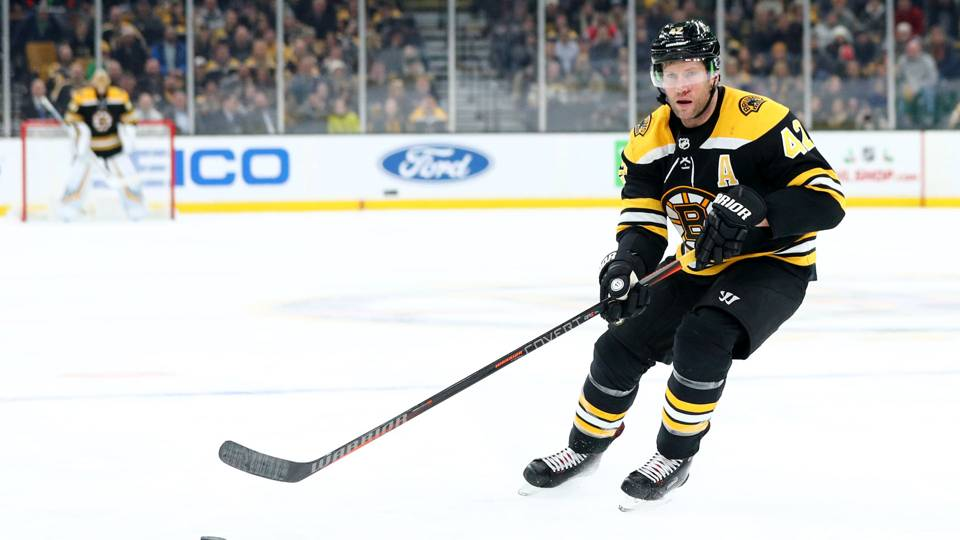 Bruins C David Backes suspended 3 games for illegal check to head of Devils' Blake Coleman
