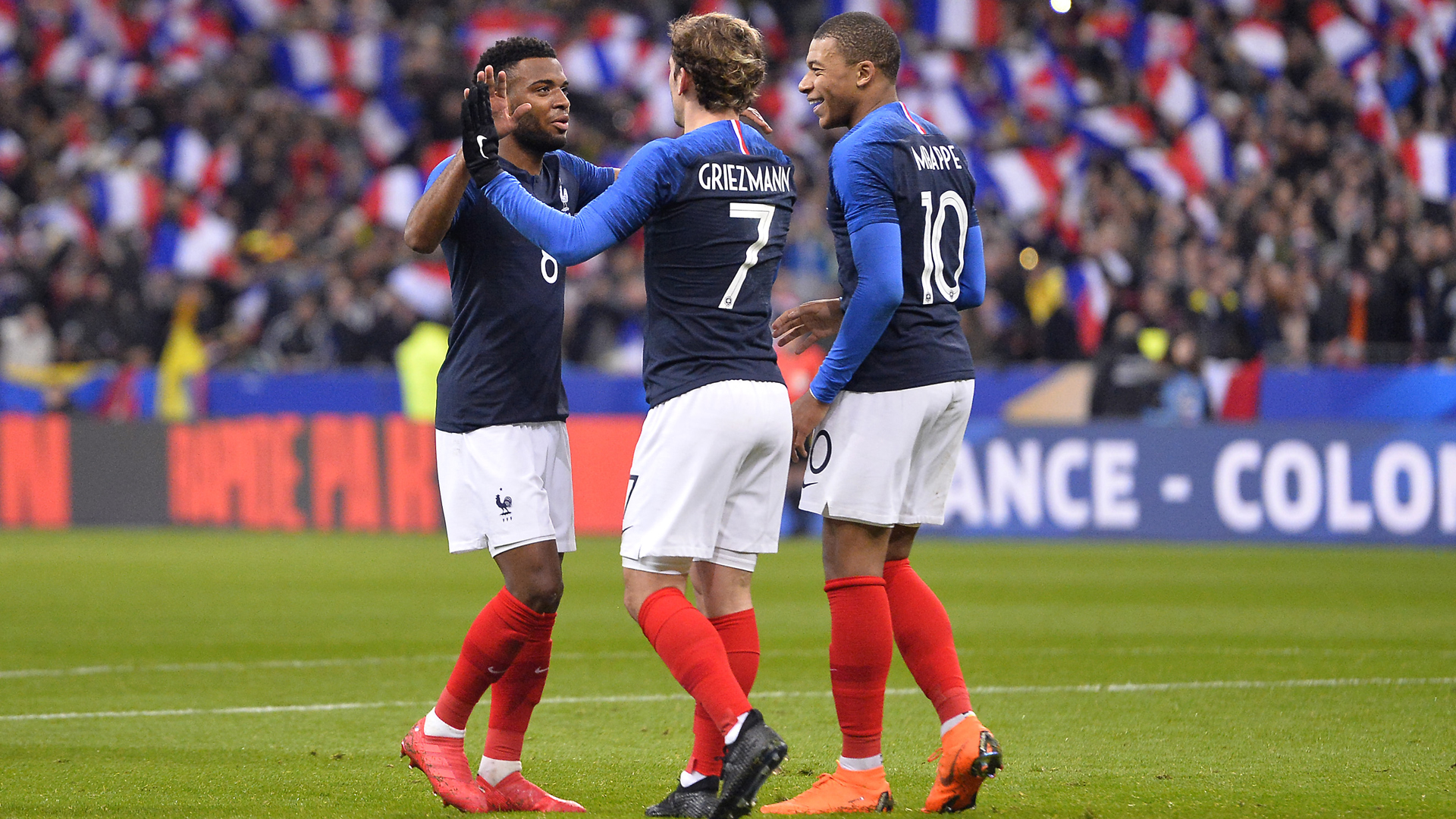 France striker Antoine Griezmann says 'it was a penalty' vs. Australia