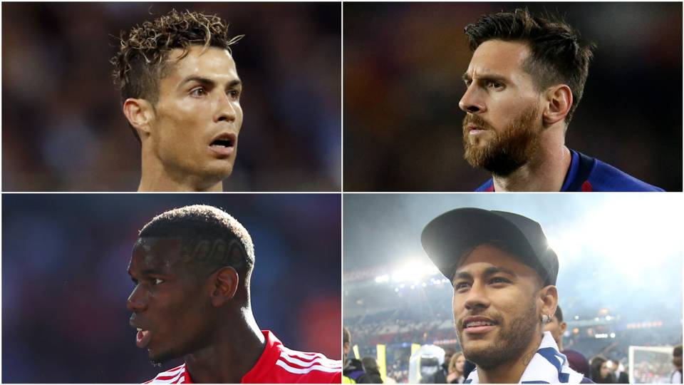 Cristiano Ronaldo, Lionel Messi and Kylian Mbappe in but other big names left out of Best FIFA Men's Player award